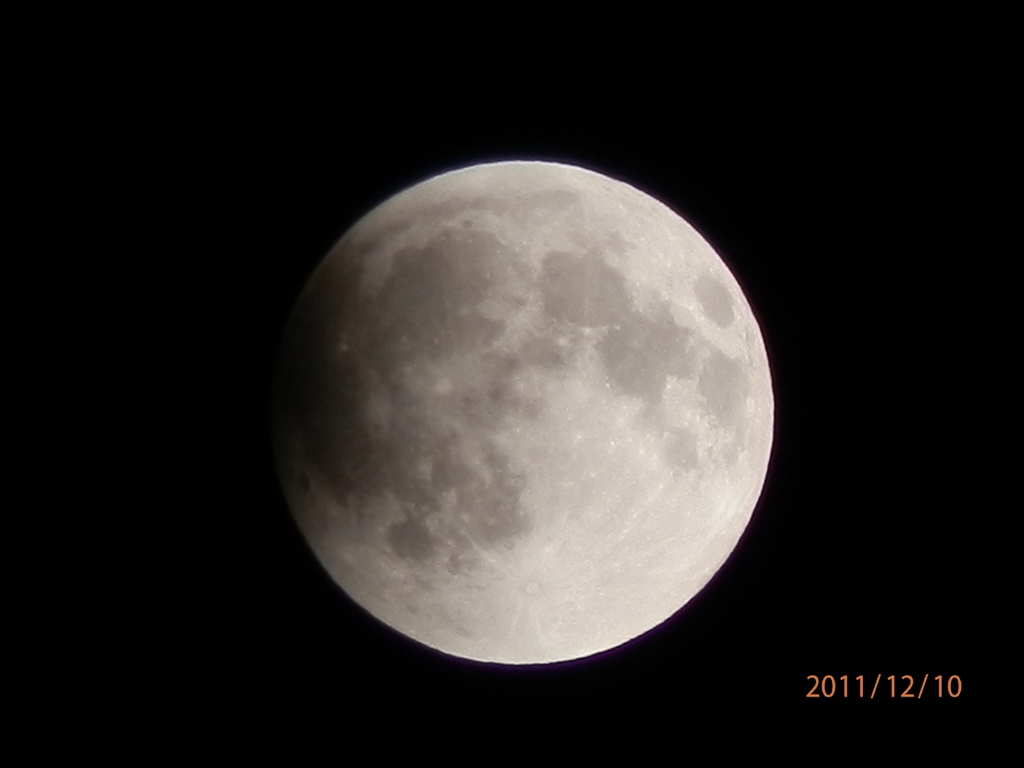 20111210 21:41eclipse of the moon