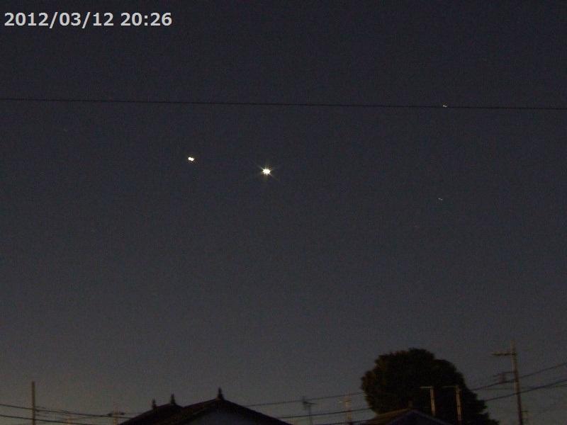 2012/03/12 金星と木星
