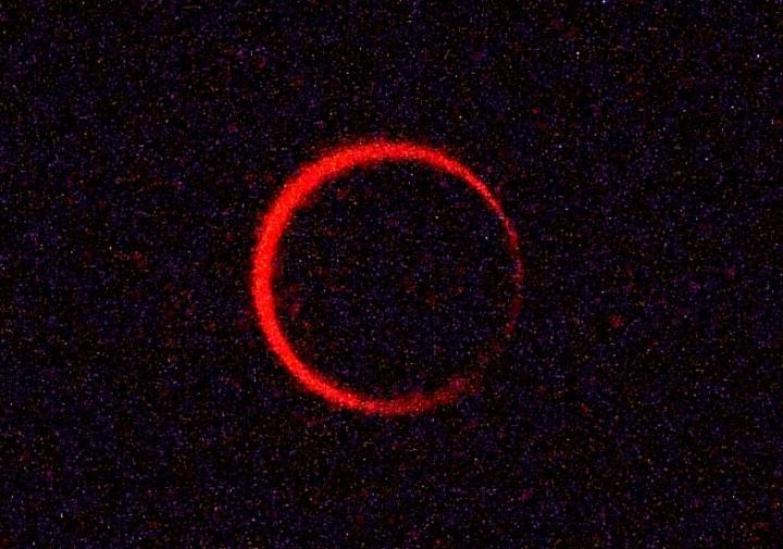金環日食2012年5月21日7:33