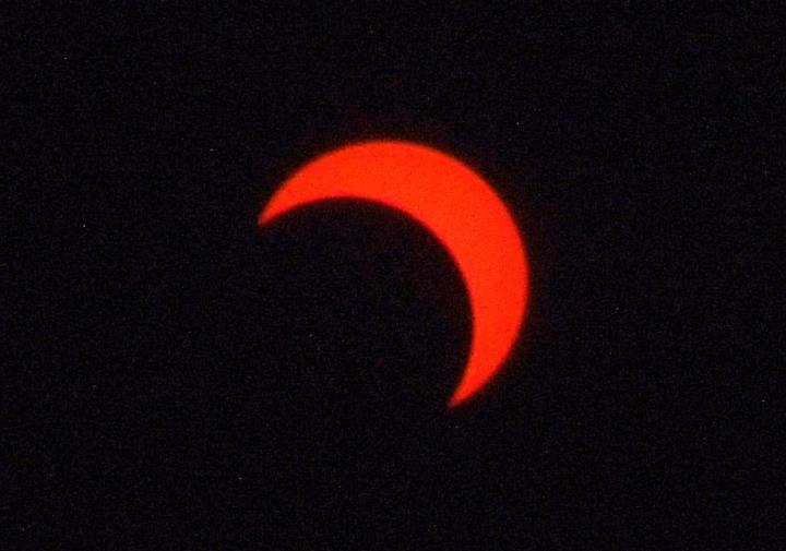 金環日食2012年5月21日7:52
